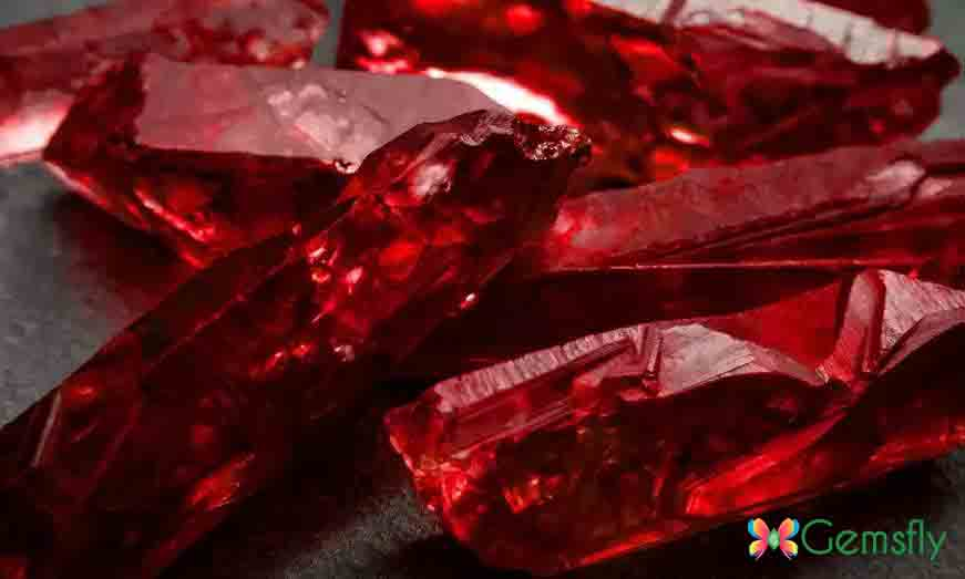 Ruby Stone July Birthstone
