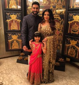 aishwarya family with Tanjore Painting