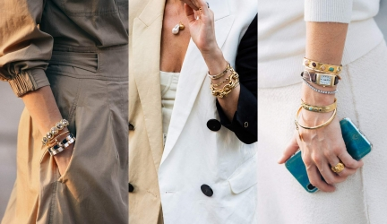 The Trend of Stacking Bracelets